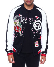 Track Jackets - Samurai Embroidered Track jacket-2401506