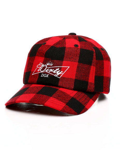 DGK - Dirty Plaid Strapback Cap