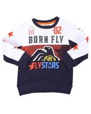 Born Fly - Fleece Crew Neck Sweatshirt (4-7)-2401104