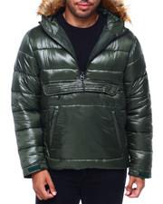 MADBLUE - Anorak Puffer w/ Faux Fur Hood-2400972