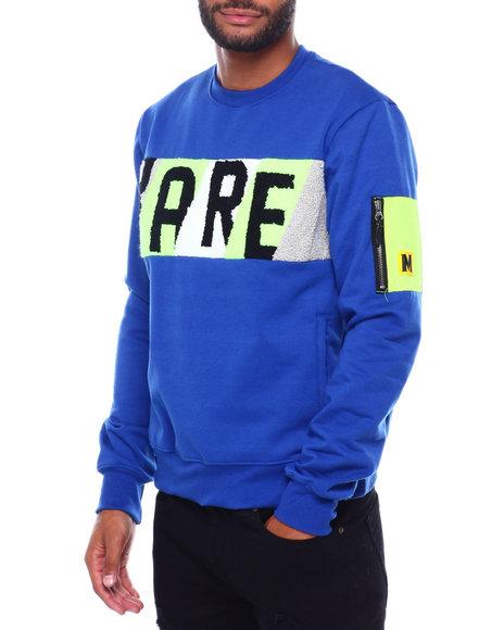 Buyers Picks - RARE Chenille Panel Crewneck Sweatshirt
