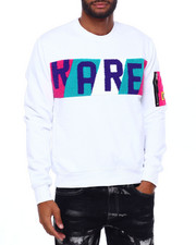 Buyers Picks - RARE Chenille Panel Crewneck Sweatshirt-2402398