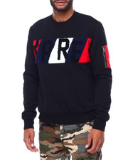 Buyers Picks - RARE Chenille Panel Crewneck Sweatshirt-2402409