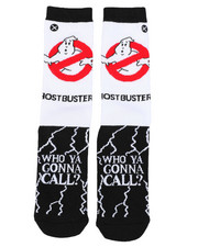 DRJ SOCK SHOP - Ghostbusters Shock Crew Socks-2402137