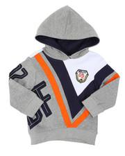 Hoodies - Fleece Pop Over Hoodie (2T-4T)-2401371
