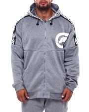 Outerwear - Logo Tape Fleece Hood (B&T)-2402128