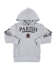 Parish - Fleece Pop Over Hoodie (4-7)-2401437