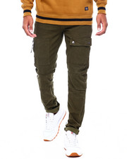 Buyers Picks - Cut and Sew Stretch Twill Pant w Pocket Details-2401465