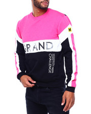 Buyers Picks - Grand Colorblock Crewneck Sweatshirt-2402382