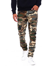 The Camper - CAMO SLIM RIP STOP CARGO PANT-2402765