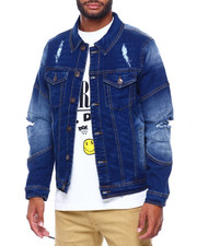 Outerwear - Rip and Repair Denim Jacket-2402524