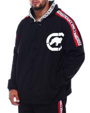 Outerwear - Logo Tape Fleece Hood (B&T)-2402105