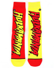 DRJ SOCK SHOP - Hulkamania Crew Socks-2402158