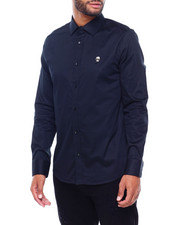 Button-downs - KARL HEAD PATCH LOGO SHIRT-2401273