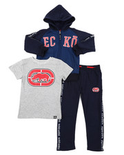 Ecko - 3PC Fleece Jogger Set (8-18)-2402848