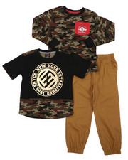 Boys - 3 PC Knit Set (4-7)-2402860