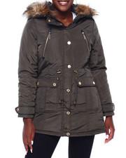 Rocawear - RCW Faux Fur Hood Trim Parka-2403026
