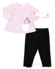 Girls - 2 Piece Fur Trimmed Set (Infant)-2402920