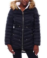 Outerwear - JS Cozy Faux Fur Lined Nylon Puffer-2403127