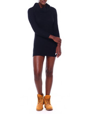 Sweaters - Cowl Neck L/S Sweater Dress-2403560