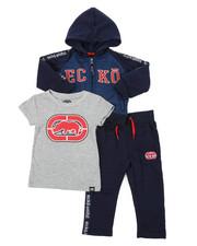 Ecko - 3PC Fleece Jogger Set (2T-4T)-2402840