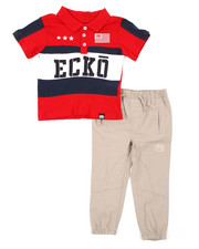 Ecko - 2 Pc Polo Shirt & Pants Set (2T-4T)-2402928