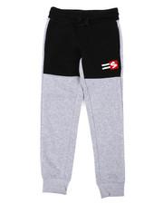 Sweatpants - Fleece Pants W/ Chenille Patch (8-20)-2403116