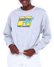 Graphix Gallery - MTV JR Pullover oversize Sweatshirt-2403016