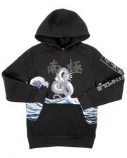 Sizes 8-20 - Big Kids - Pullover Fleece Hoodie W/ Rhinestones (8-20)-2403187