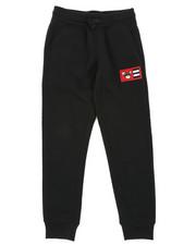 Sweatpants - Fleece Pants W/ Chenille Patch (8-20)-2403152