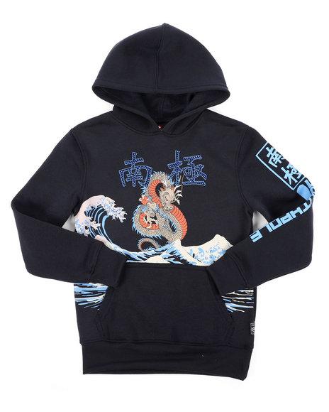 Arcade Styles - Pullover Fleece Hoodie W/ Rhinestones (8-20)