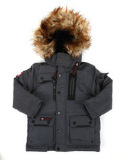 Arcade Styles - Canada Weather Gear Parka Jacket (4-7)-2403618