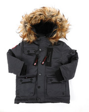 Arcade Styles - Canada Weather Gear Parka Jacket (2T-4T)-2403572