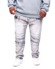 Men - Pleated Knee Jean (B&T)-2382817