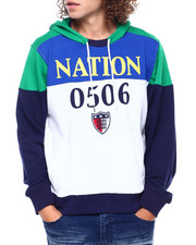 Parish - NATION 0506 COLORBLOCK HOODIE-2404505