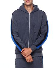 Outerwear - Bi Color Stripe Hoody-2402392