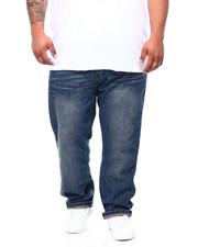 Jeans - Stone Wash, Sand Blast w/ Crinkles Denim Pants (B&T)-2390206