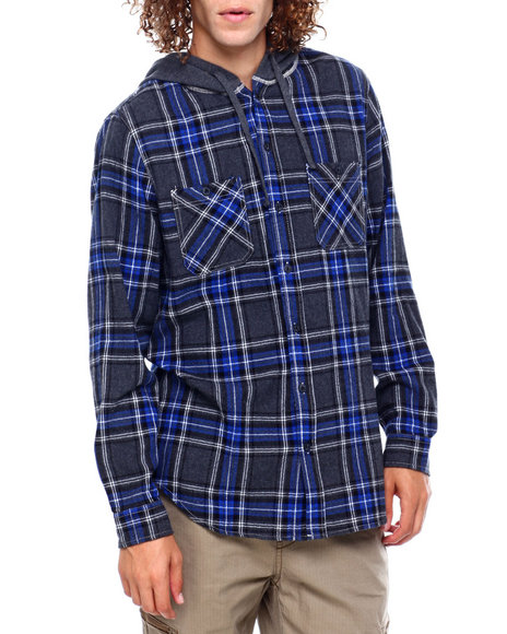 Union Bay - SWITCHBACK FLANNEL HOODIE