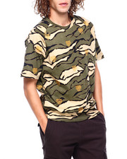 Sean John - SS Embroidered Camo Sweatshirt-2403771