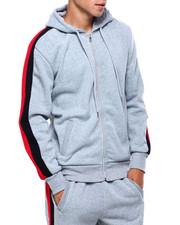 Outerwear - Bi Color Stripe Hoody-2402437