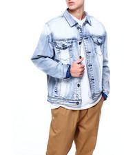 Denim Jackets - White Wash Denim Jacket-2405644
