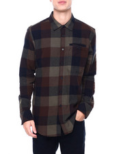 Sean John - LS Woodland Flannel Shirt-2405561