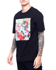 ROKU STUDIO - Scribble Art Tee-2405551