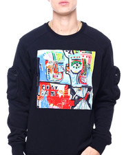 ROKU STUDIO - Scribble Art Crewneck-2405745