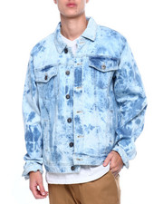 Holiday Shop - Tie Dye Wash Denim Jacket-2405691