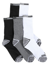 DRJ SOCK SHOP - 5 Pack Crew Socks-2405283