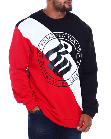 Rocawear - Roc Seal Crew Top (B&T)