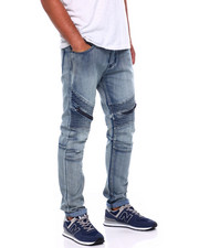 Men - Moto jean w Thigh Zip Detail-2404781