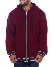 Men - Flat Knit Trimmed Hoodie (B&T)-2401796