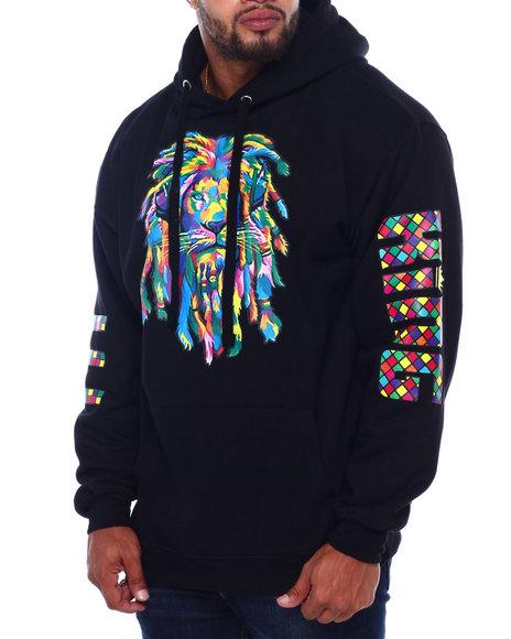 Buyers Picks - Rainbow Rasta Hoodie (B&T)